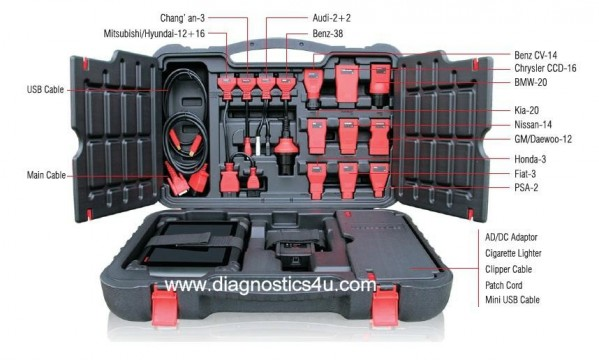 Autel MS908 Case
