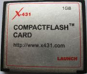 Original Launch X431 1GB CF Mem Card