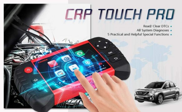 Launch CRP Touch Screen 2